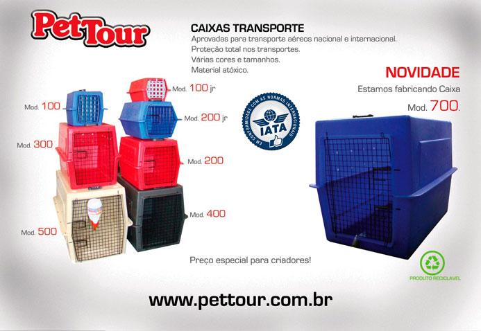 Caixa de Transporte para Animais