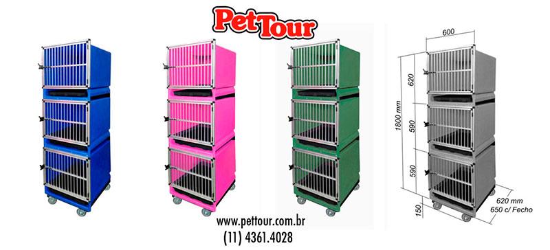 Canil Expositor para Pet Shop